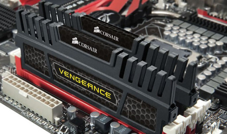 Corsair เปิดตัวแรม Vengeance DDR3-1600 MHz 16 GB Dual-Channel