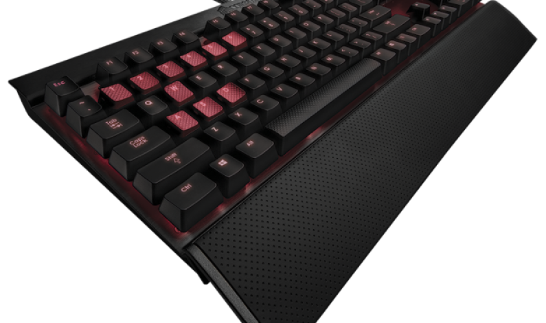 Corsair Black Aluminum Vengeance K70 Mechanical Gaming Keyboard
